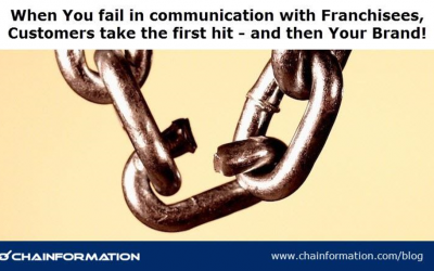 How Franchisor/Franchisee communications impacts Customer Satisfaction and Brand Loyalty